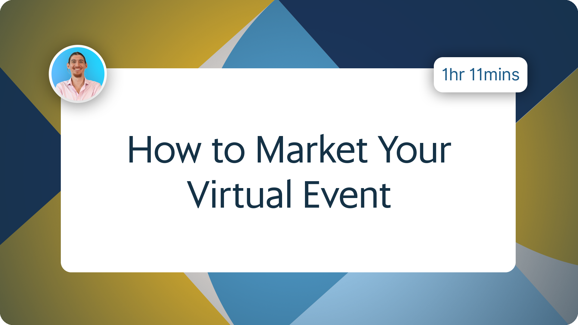 How to Market Your Virtual Event