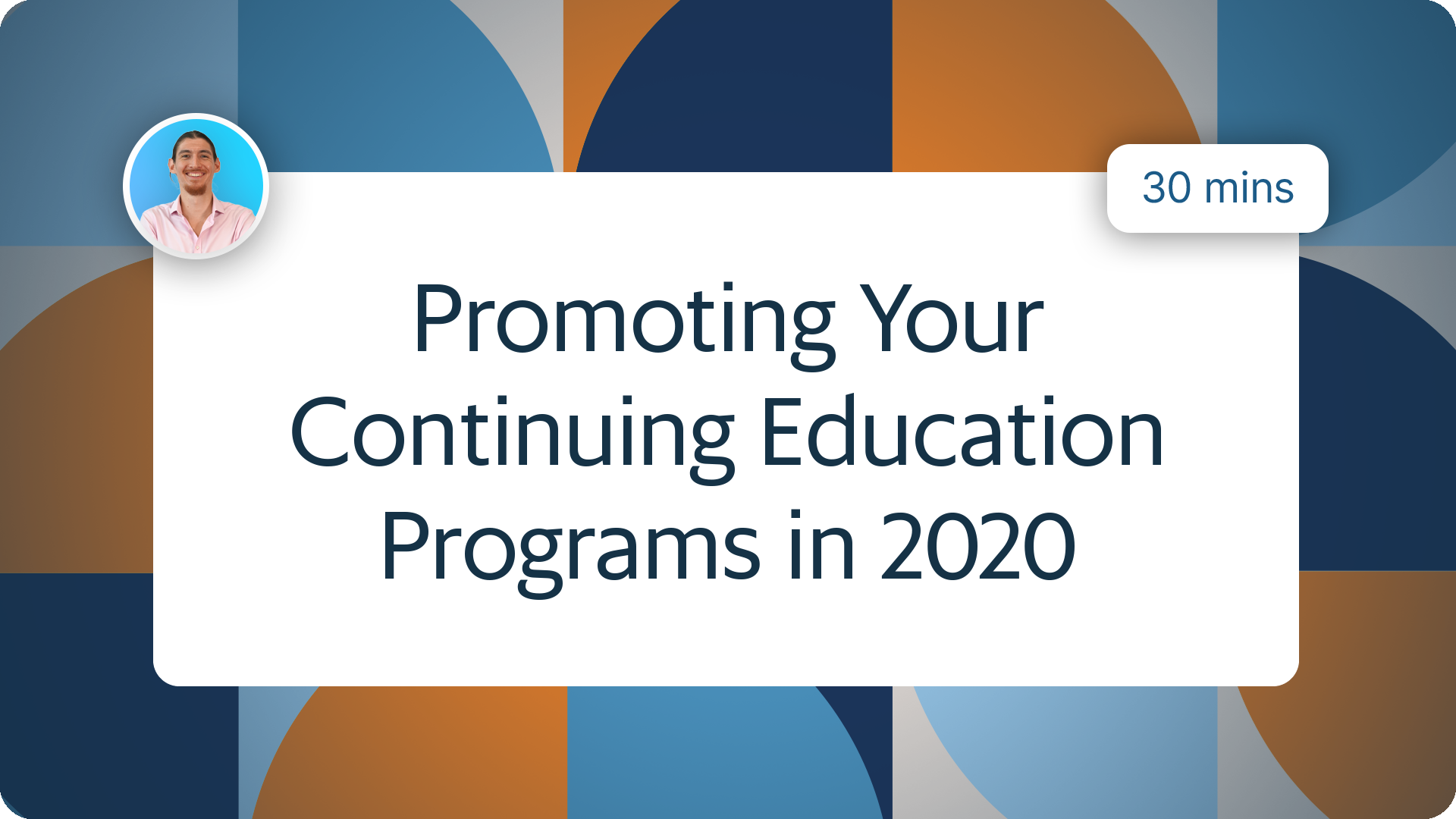 How to Market Continuing Education Programs in 2020